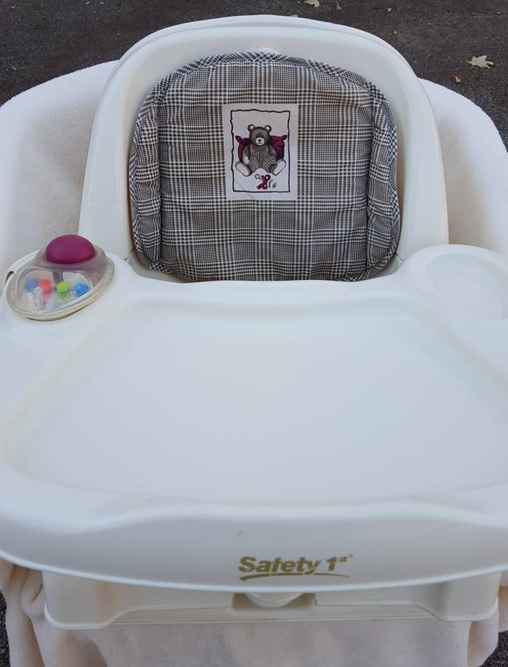 table top high chair